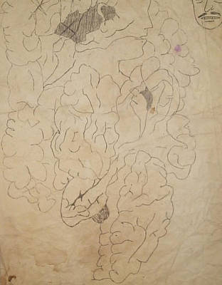 Collective Unconscious Drawing - Dream 5 by William Douglas