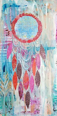 Catcher Mixed Media - Dream A Little Dream by Corinna Maggy