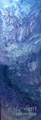 Gloss Varnish Painting - Dream A Little by Shelly Wiseberg