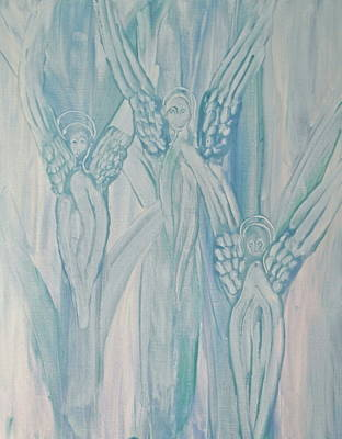 Painting - Dream Angels by Michele Myers