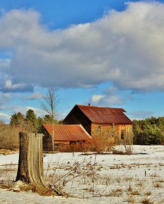 Unschooling Photograph - Dream Barn by Joe  Martin