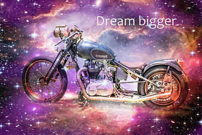 Digital Art - Dream Bigger by Ramona Murdock