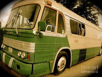 Dream Bus Art Print by Chuck Taylor