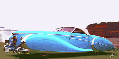 Painting - Dream Car by CHAZ Daugherty
