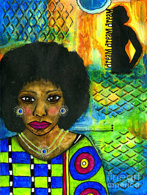 Mixed Media - Dream Catcher by Angela L Walker