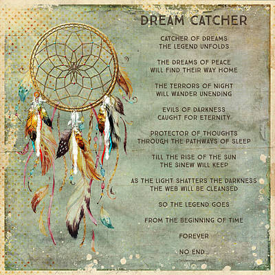Dream Catcher Art Print