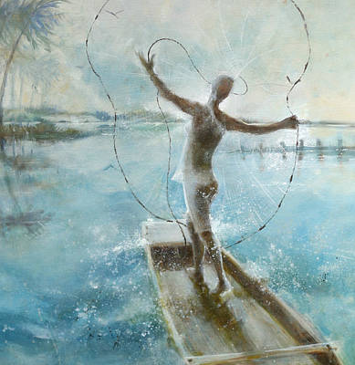 Painting - Dream Catcher by Gertrude Palmer