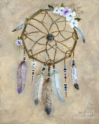 Dream Catcher Art Print by Marilyn Dunlap