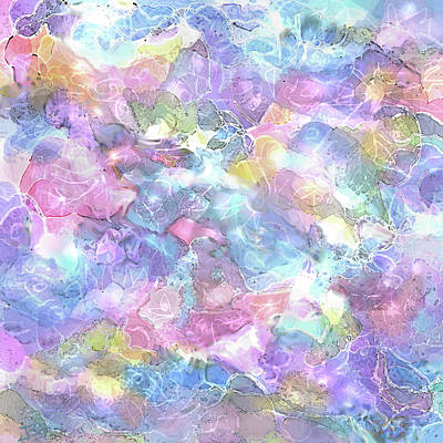 Painting - Dream Clouds by Jean Batzell Fitzgerald