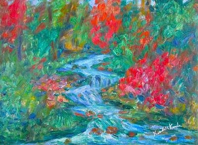Painting - Dream Creek by Kendall Kessler