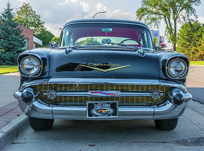 Photograph - Dream Cruise Chevy  by Pravin Sitaraman