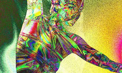Mixed Media - Dream Dancer by Kiki Art