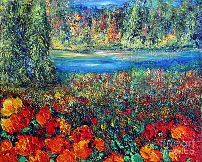 Painting - Dream Day  by Teresa Wegrzyn