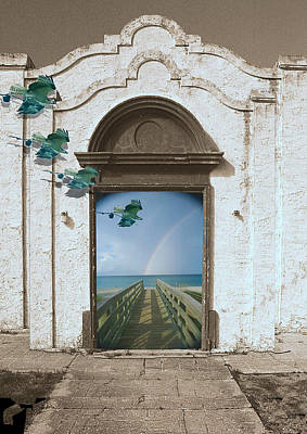 Digital Art - Dream Facade by Richard Nickson