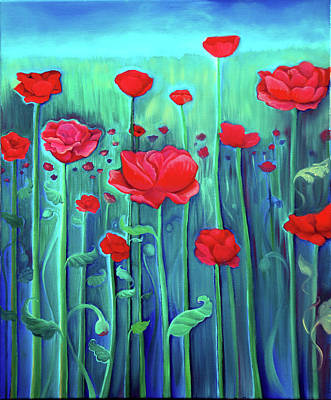 Painting - Dream Field by Eleanor Hofer
