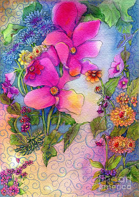 Painting - Dream Flowers by Carole DiTerlizzi
