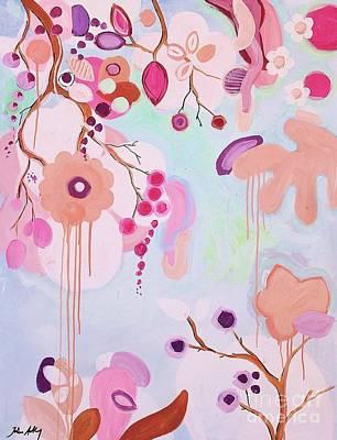 Dream Flowers Art Print by Jolina Anthony