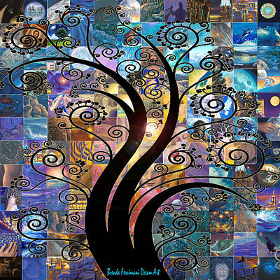 Digital Art - Dream Fractals  by Brenda Ferrimani