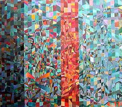 Painting - Dream Fragments by Bernard Goodman