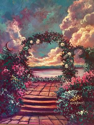 Painting - Dream Garden by Randy Burns