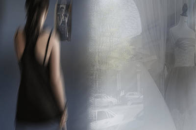 Youth Digital Art - Dream Girl by larisa Fedotova