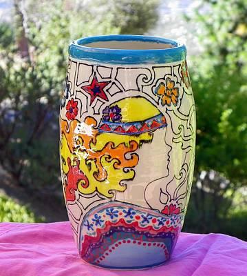 Ceramic Art - Dream Goddess by Lisa Dunn