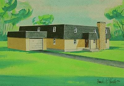 Painting - Dream Home by Frank Hunter