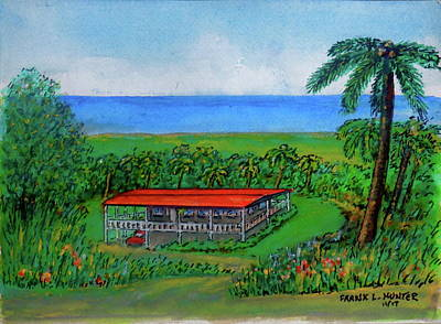 Painting - Dream Home On The Slopes Of El Yunque by Frank Hunter