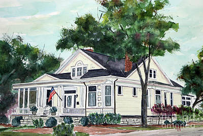 Painting - Dream Home by Tim Ross