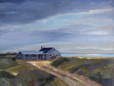 Painting - Dream Home by Trina Teele