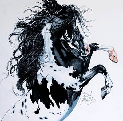 Painting - Dream Horse Series #2001 by Cheryl Poland