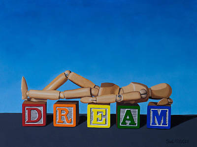 Manikins Painting - Dream II by Tom Swearingen