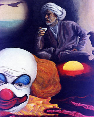 Clown Digital Art - Dream Image 8 by Kevin Middleton