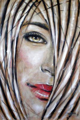 Dream In Amber 120809 Art Print by Selena Boron
