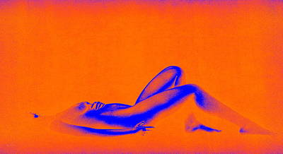 Dream In Orange Art Print