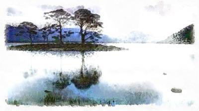 Digital Art - Dream Island by Mario Carini