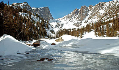 Photograph - Dream Lake Rocky Mountain Park Colorado by James Steele