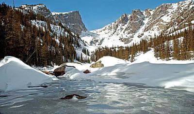 Dream Lake Rocky Mountain Park Colorado Print by James Steele