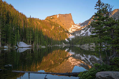 Photograph - Dream Lake by Sean Allen