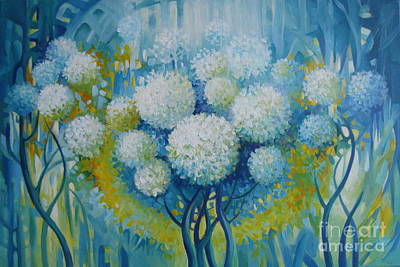 Sphere Painting - Dream Land by Elena Oleniuc