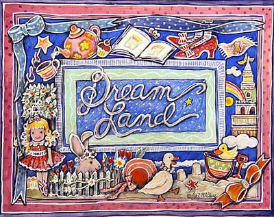 Dream Land Art Print by Gail McClure