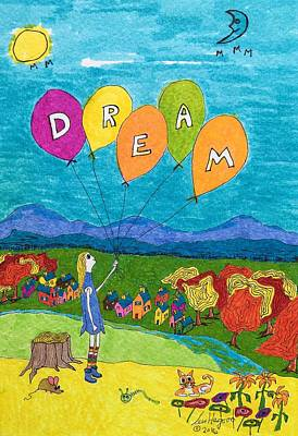 Painting - Dream by Lew Hagood