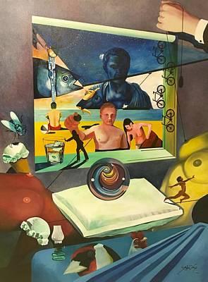 Phish Painting - Dream Of A European Finch by John Creech