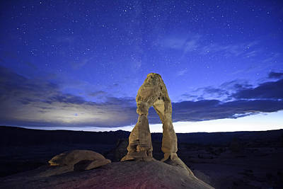Delicate Arch Photograph - Dream Of Arches by Jon Glaser