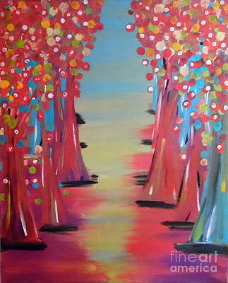 Abstract Handbag Painting - Dream Of Fields by Jilian Cramb - AMothersFineArt