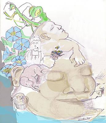 Quan Yin Mixed Media - Dream Of God by John Keasler