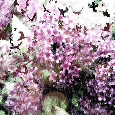 Photograph - Dream Of Pink Spirea by Ronda Broatch