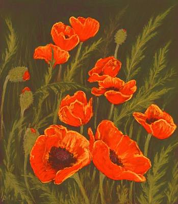 Painting - Dream Of Poppies by Anastasiya Malakhova