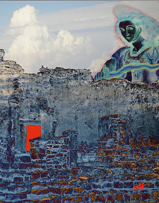 Dream Of Tulum Ruins Art Print