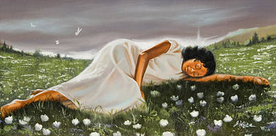 Painting - Dream On The Horizon by Jerome White